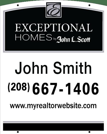 JOHN L SCOTT 30x24 EXCEPTIONAL