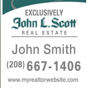 JOHN L SCOTT 30x24 YARD
