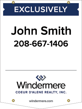 Windermere 32x24 yard sign