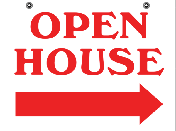 18X24 OPEN HOUSE STOCK