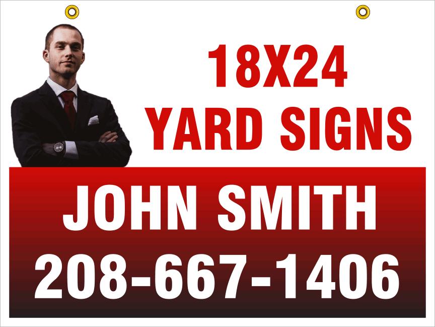 18x24 yard signs