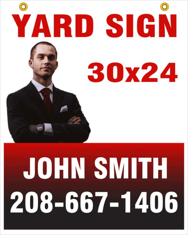 30x24 custom yard sign