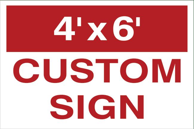 48x72 custom yard