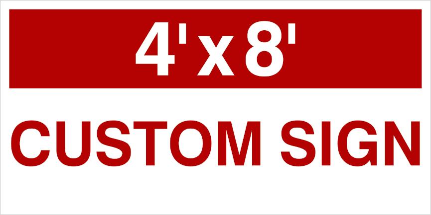 48x96 custom yard