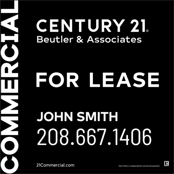 CENTURY 21 BEUTLER 4X4 COMMERCIAL FOR LEASE BLACk
