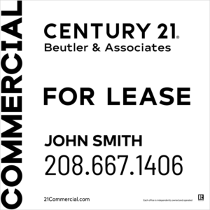 CENTURY 21 BEUTLER 4X4 COMMERCIAL FOR LEASE WHITE