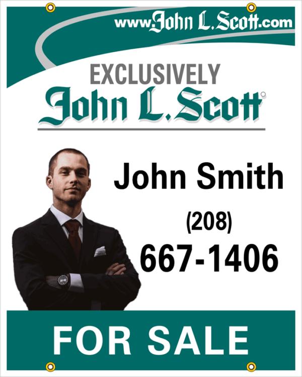 JOHN L SCOTT 30X24 PHOTO