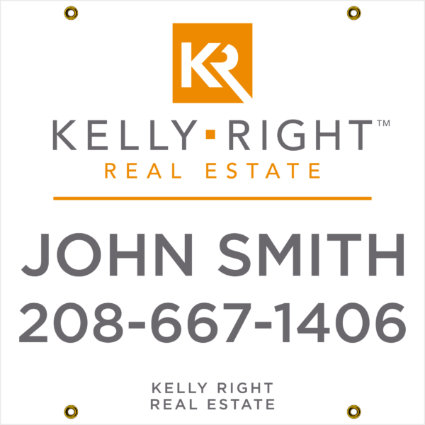 KELLEY RIGHT PLAIN 24X24 YARD SIGN