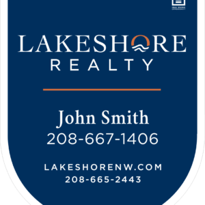 LAKESHORE 30X24 YD SIGN
