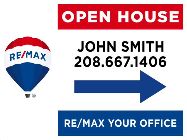 REMAX 18X24 OPEN HOUSE