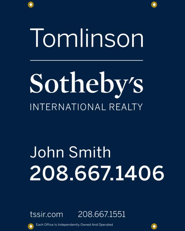 SOTHEBYS 30X24 YARD SIGN