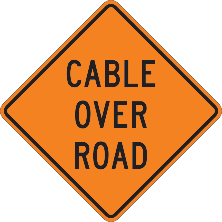 CABLE OVER ROAD