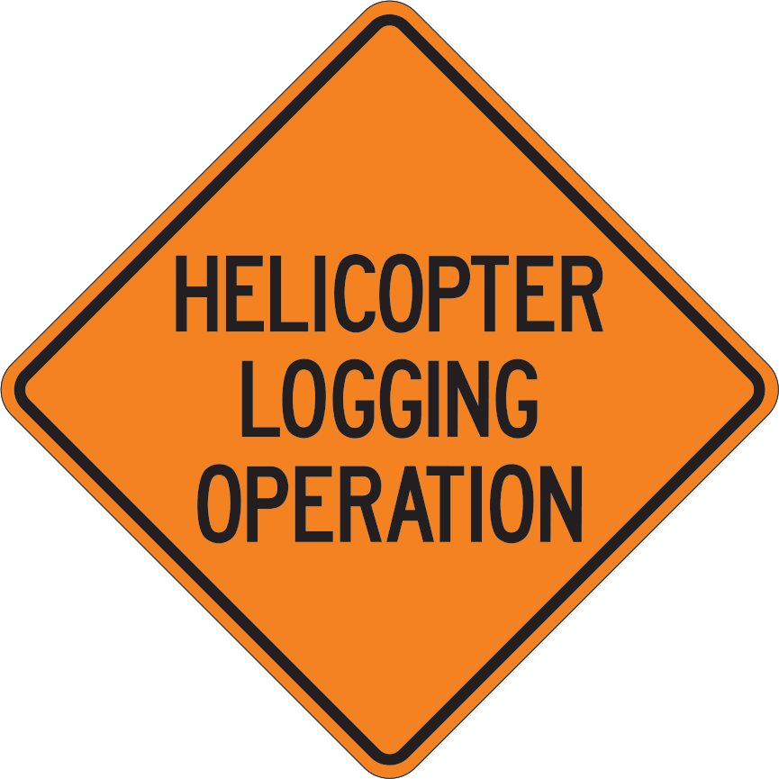 HELICOPTER LOGGING OPERATION