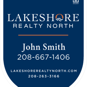 LAKESHORE NORTH 30X24 YARD SIGN