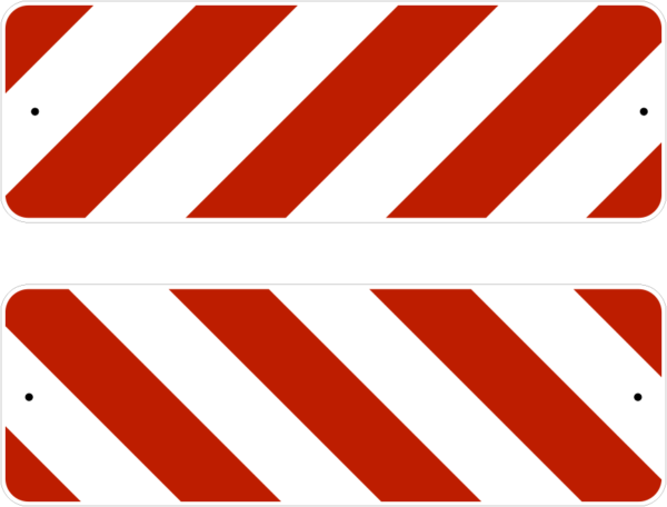 TYPE 3 WHITE RED 36X12